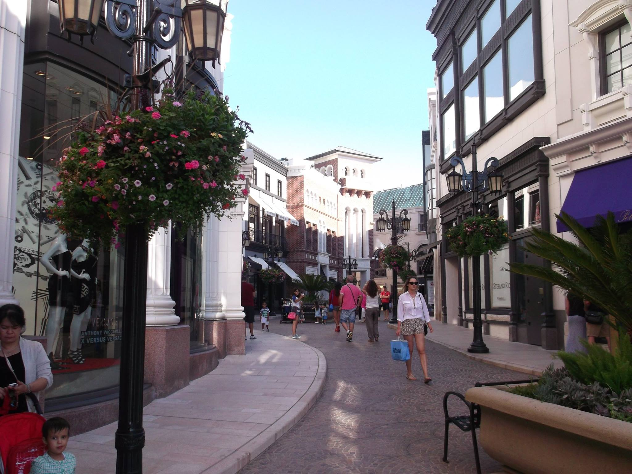 Der rodeo drive in beverly hills - Eleganter einrichtungsstil luxus beverly hills ...